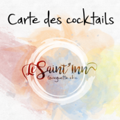 carte cocktail bouton